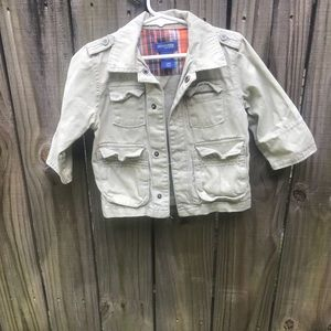 Oshkosh Boys Khaki Jacket